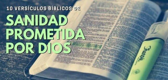 versículos bíblicos de sanidad prometida, versículos de promesas de sanidad de Dios, promesas de Dios en la Biblia